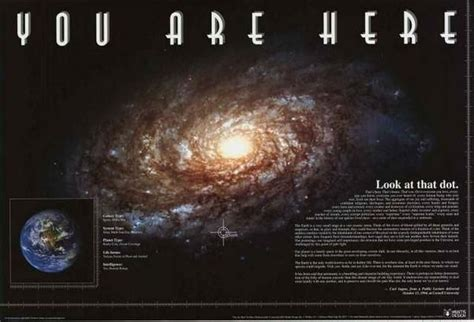 Milky Way Galaxy You Are Here Poster 24x36 – BananaRoad