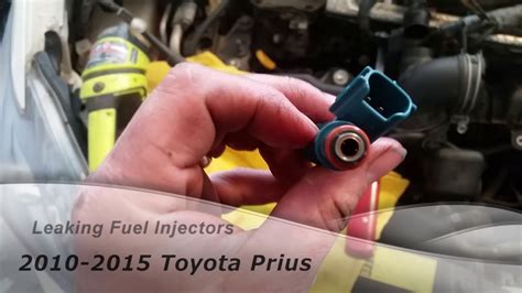 Leaking Fuel Injectors Toyota Prius - FIXED - YouTube