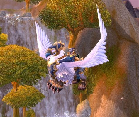 Armored Snowy Gryphon - Item - World of Warcraft