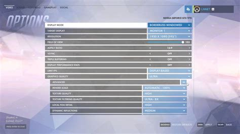 How to Change Render Scale In Overwatch - YouTube