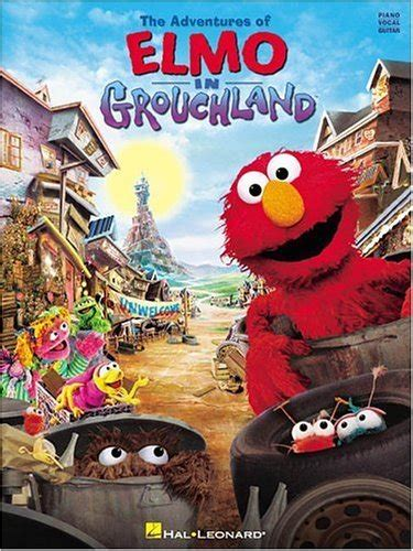 The Adventures of Elmo in Grouchland (sheet music book