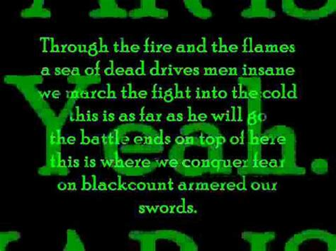 This War Is Ours (The Guillotine Part II) Lyrics - YouTube