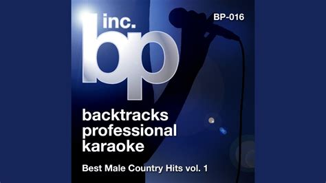 Your Man (Karaoke Instrumental Track) (In the Style of