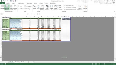 Solve Page Break Problems in Excel 2013 For Dummies - YouTube