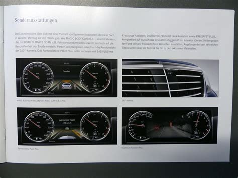 New Mercedes S-Class Brochure is on Internet - cars & life