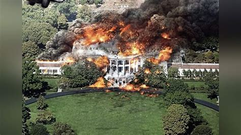 Spoof news: White House ablaze after all the recent