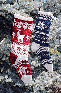 Ravelry: Christmas Stockings pattern by Patty Connolly