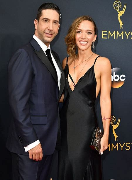 David Schwimmer and his former spouse shares joint custody