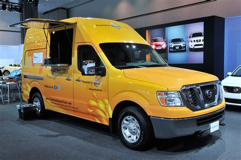 2012 Nissan NV2500 HD food trucks deliver deliciousness in