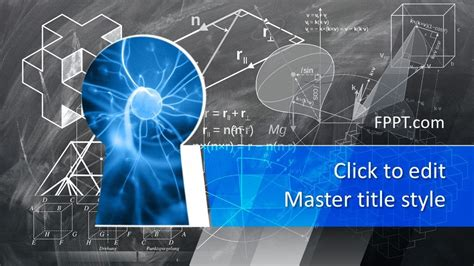 Free Science Knowledge PowerPoint Template - Free
