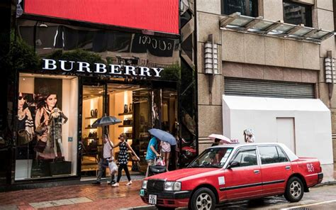 Market report: Burberry checked as China feels pinch