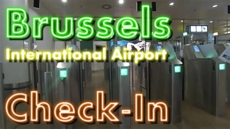 GoPro | Brussels International Airport | Check-In Counter
