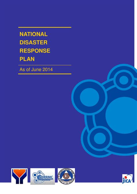 Philippines: National Disaster Response Plan (As of June
