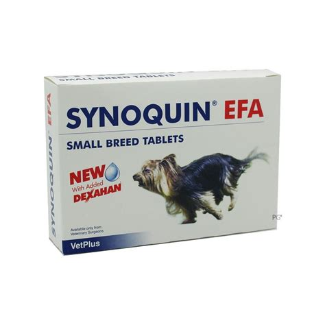 Synoquin EFA Tablets for Small Dogs Under 20 lbs (10 kg