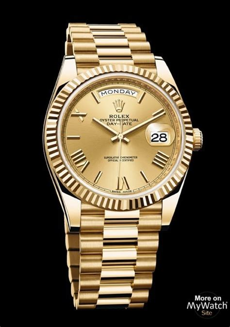 Watch Rolex Day-Date 40   Oyster Perpetual 228238 - 83418