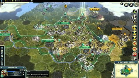 Civilization 5 - Deity military victory! (How to) Full