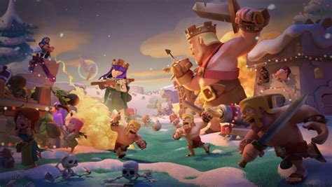 Clash of Clans December 18 Winter update patch notes in