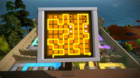 The Witness - How to Solve The Tower Castle Hedge area