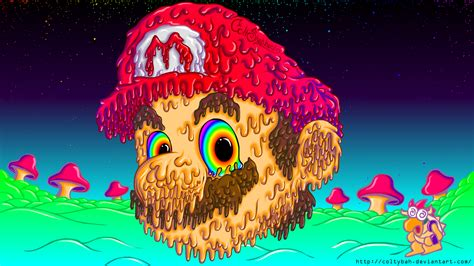 Super Trippy Mario by coltybah on Newgrounds