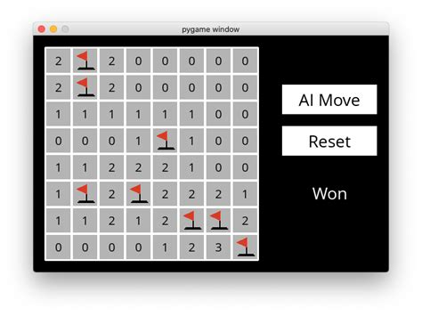 Minesweeper - CS50's Introduction to Artificial