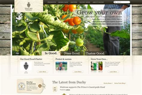 25 Nature Related Web Designs to Inspire You - Web Design