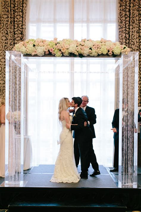 Black Tie Wedding with Touches of Blush - Belle The Magazine