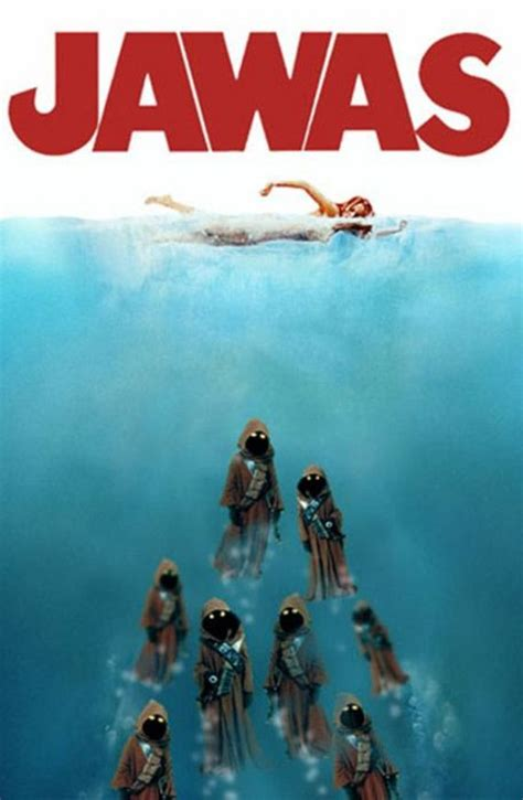 Funny Spoofs Of The 'Jaws' Movie Poster - Barnorama
