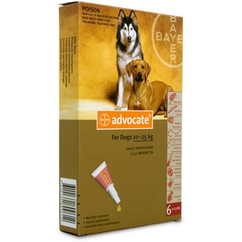 Advocate for large dogs 10-25kg