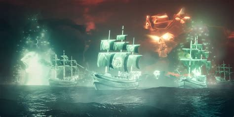 Sea of Thieves Update Adds Ghost Ship Fleets | Game Rant