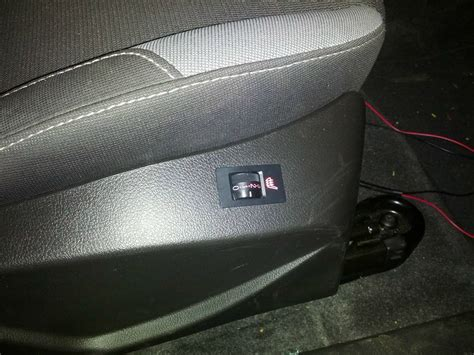 Heated Seat Install How-To - Ford Focus Forum, Ford Focus