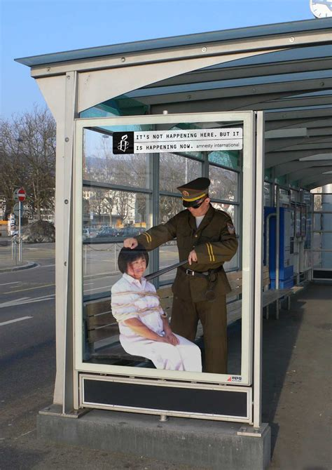 Amnesty International - it's not happening here, but it's