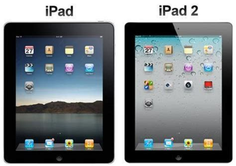 Differences between ipads