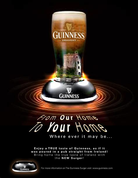 Guinness Surger Campaign by Michael Thies at Coroflot