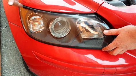 How to replace front headlight headlamp light bulbs on a