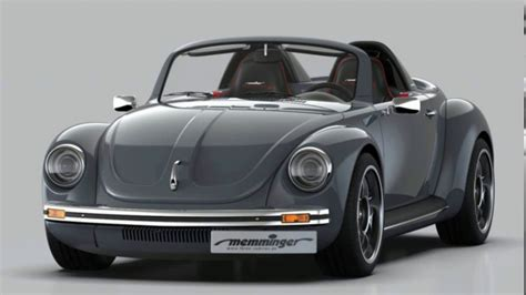 Memminger Roadster 2 7 is the ultimate VW Beetle - YouTube