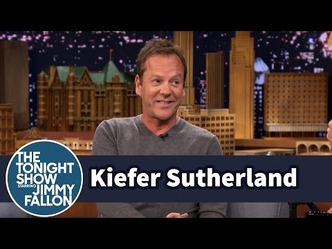 Kiefer and Donald Sutherland Were Both Nervous to Work On