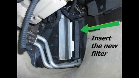 SAAB 9-5 OG cabin filter replacement - YouTube