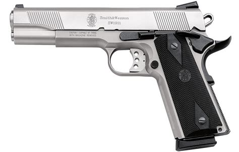 Smith & Wesson SW1911 45 ACP Stainless Steel Centerfire